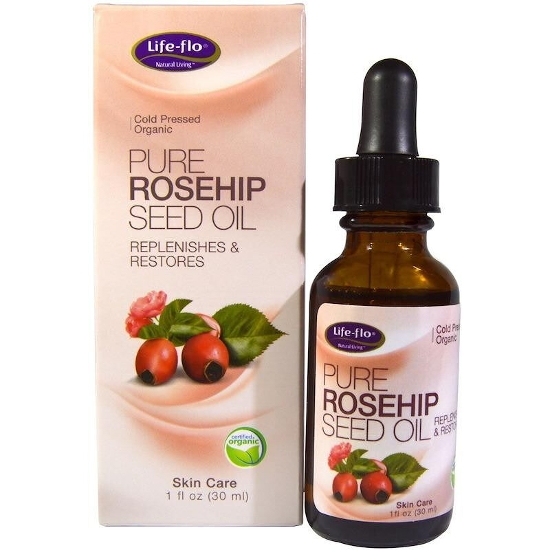 ทบทวน Life Flo Health Pure Rosehip Seed Oil Skin Care 1 Oz 30 Ml