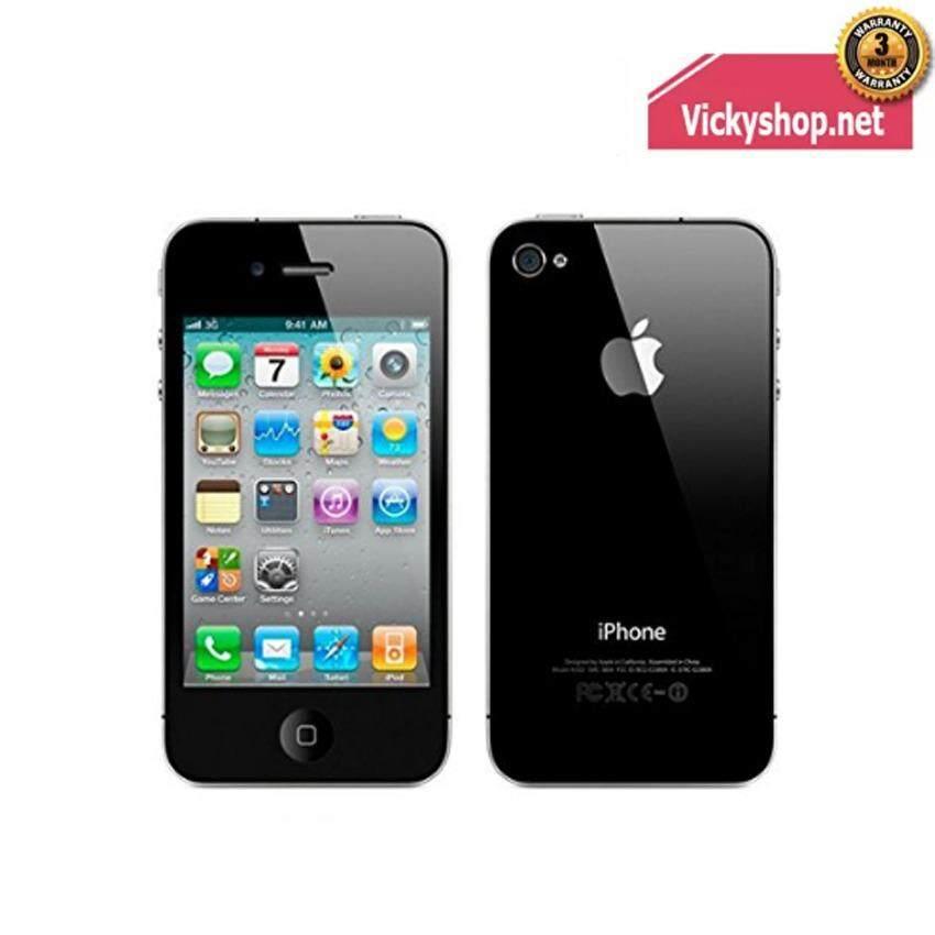 ซื้อ Refurbished Apple Iphone 4S 16Gb Black ออนไลน์ ถูก