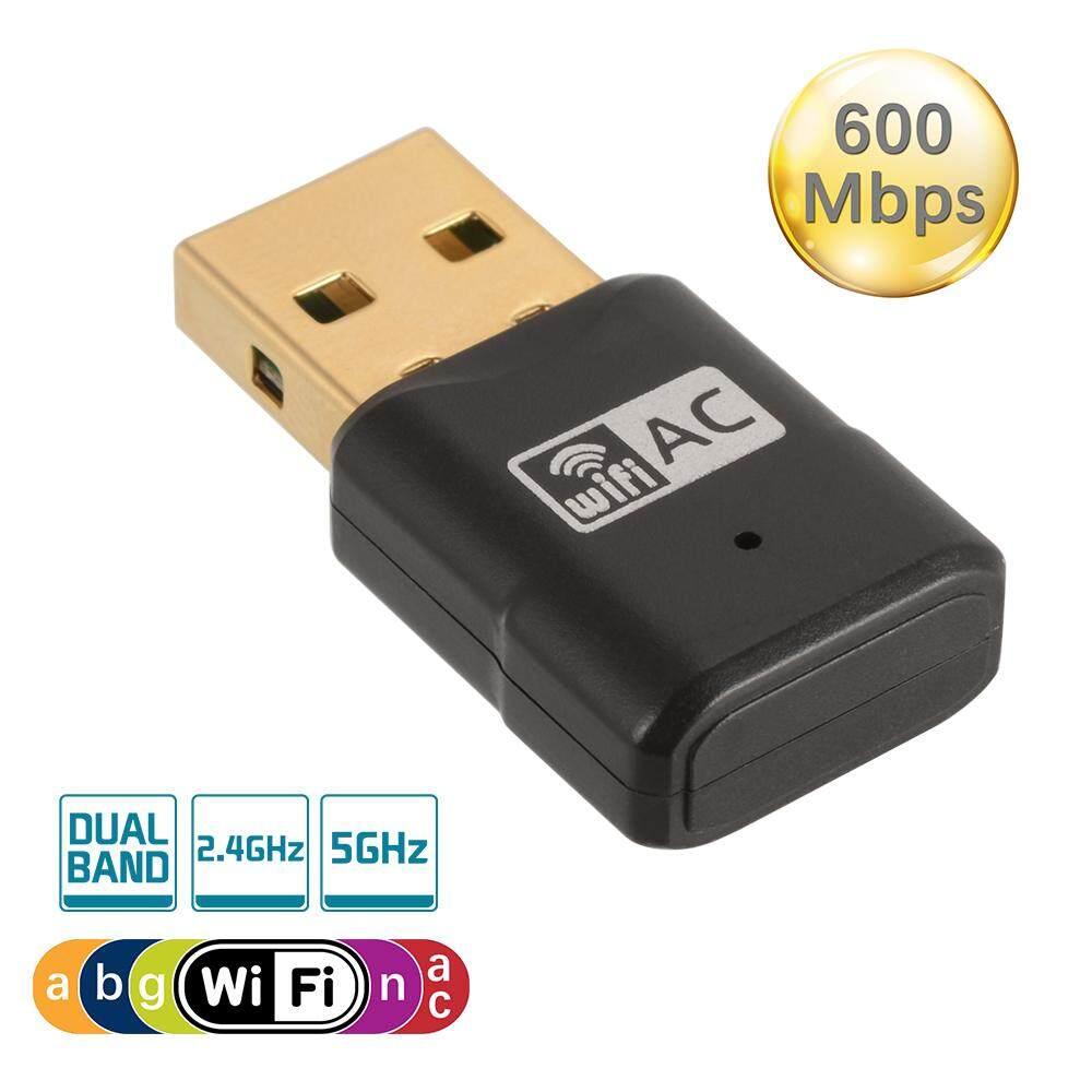 ขาย ซื้อ อะแดปเตอร์ Wifi Usb 600 เมกะวัตต์ ไร้สาย 2 4 5Ghz ใน กรุงเทพมหานคร