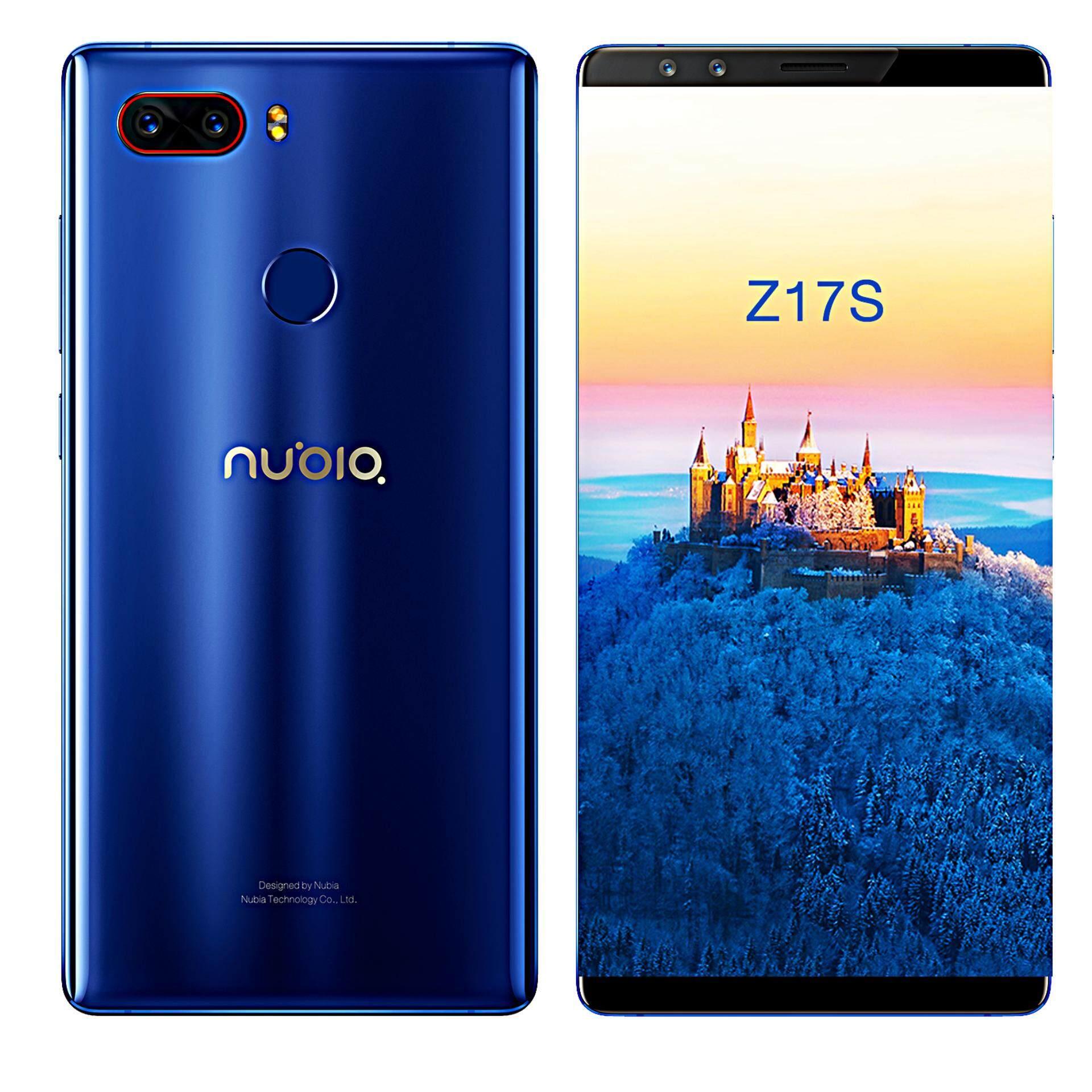 นูเบีย Z17S สีน้ำเงิน ออโรร่า