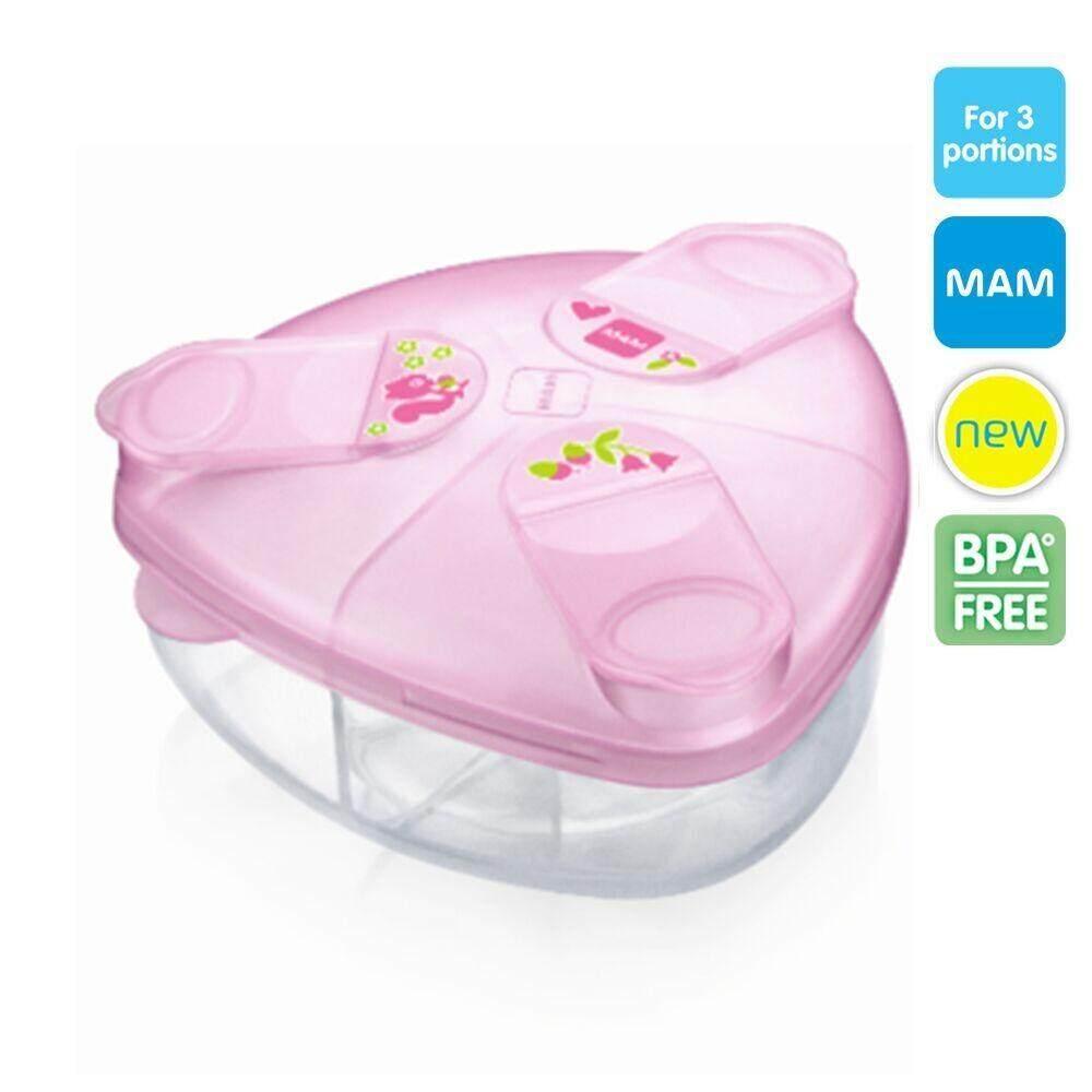 ซื้อ Mam กล่องแบ่งนมผง Powder Box Bpa Free ใน สมุทรสาคร