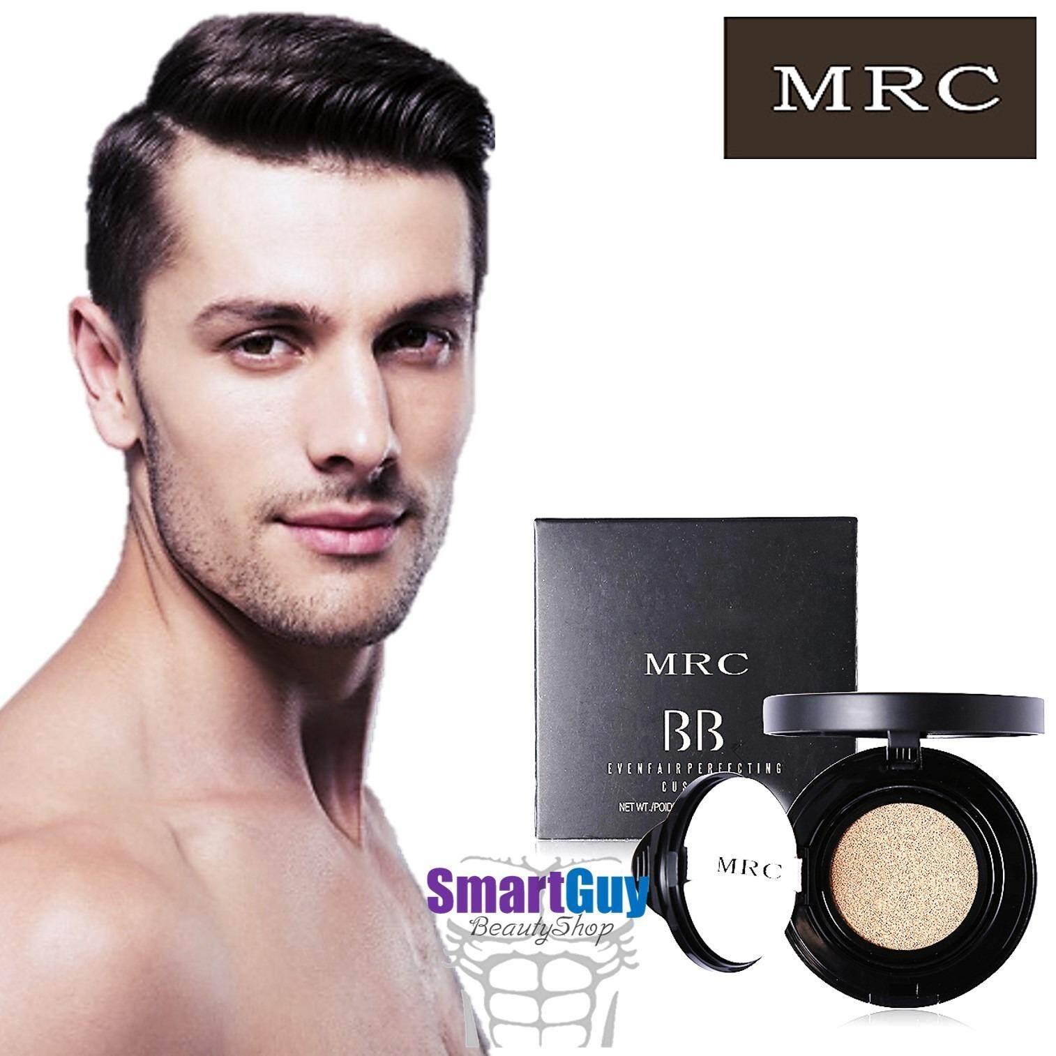 โปรโมชั่น คุชชั่นบีบีครีมสำหรับผู้ชายปกปิดกันแดดรองพื้นปรับหน้าเนียนใสเป็นธรรมชาติ Mrc Skin Foundation Cushion Bb 15G Mrc ใหม่ล่าสุด