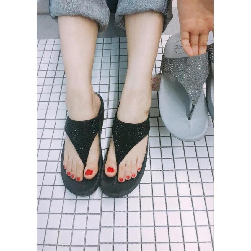 ส่วนลด รองเท้าแตะ รองเท้าแฟชั่น รองเท้าแตะหญิง เพื่อสุขภาพ เบา นุ่ม ใส่สบาย Cdm309 ไซส์มาตรฐาน Hop