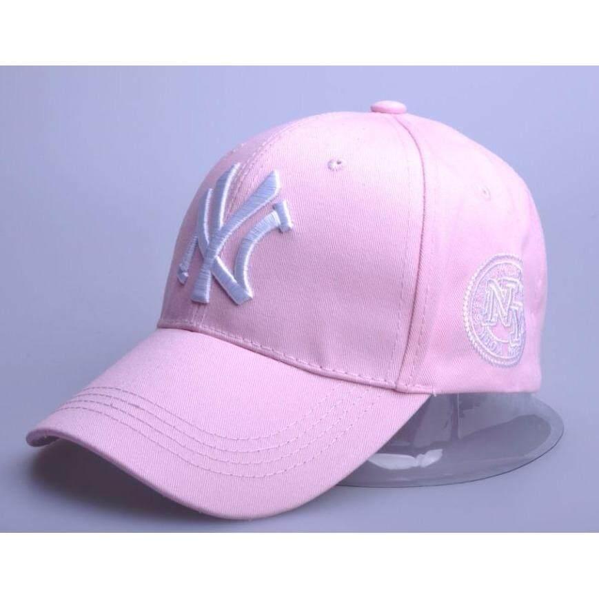 ขาย หมวกแก๊ปแฟชั่นNy รุ่น 10021 สีชมพู Ny เป็นต้นฉบับ