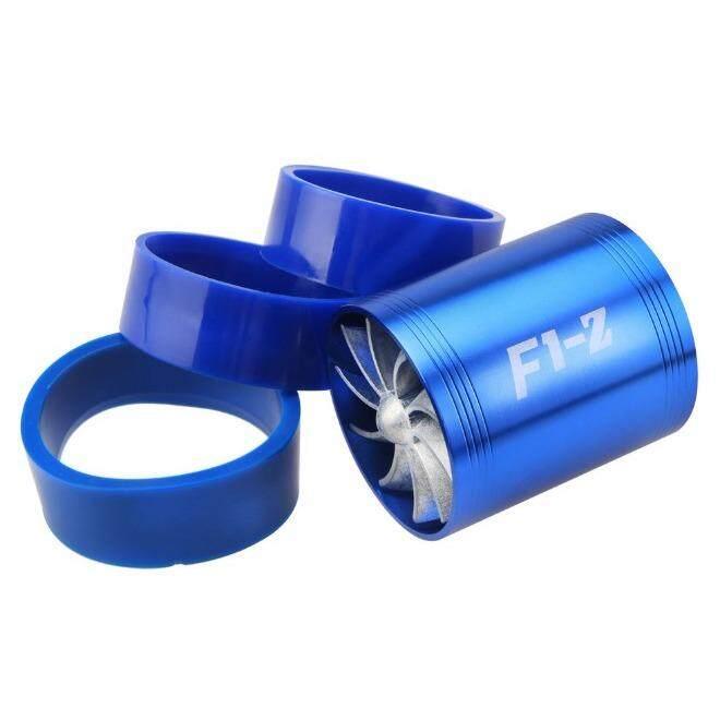 ส่วนลด F1 Z Turbo Supercharger Turbo พัดลม 2 ใบพัด สำหรับใส่ท่อกรองอากาศ เพิ่มอัตราเร่ง ประหยัดน้ำมัน พร้อมติดตั้ง สินค้านำเข้าของแท้ 100 สีฟ้า