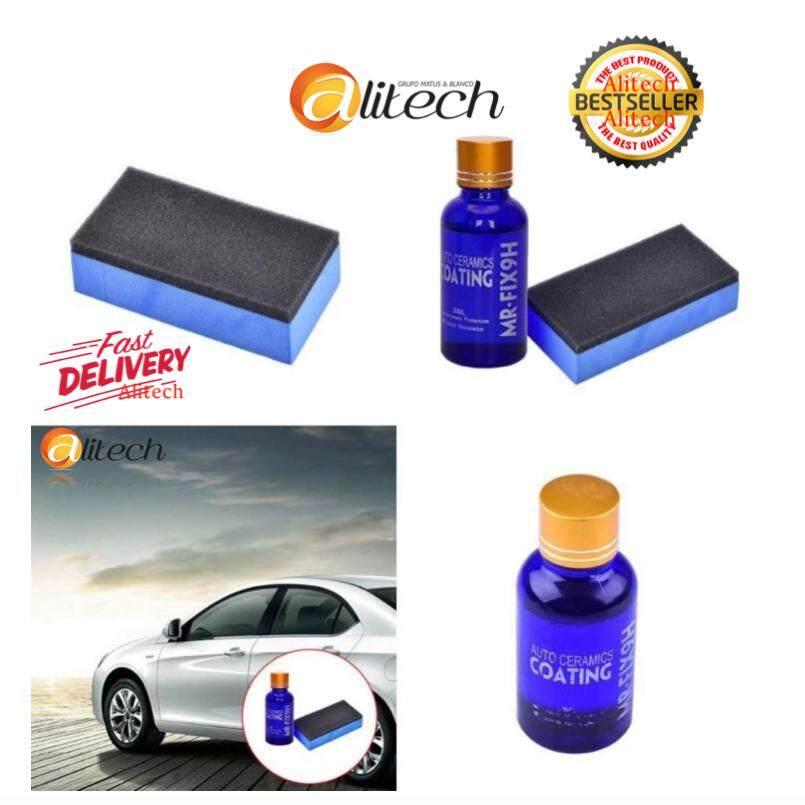 ซื้อ Alitech ขายรถร้อน Glass Coating Car Polish Anti Scratch Auto Detailing Glasscoat รถจักรยานยนต์ Paint Care เคลือบเซรามิค Universal ถูก