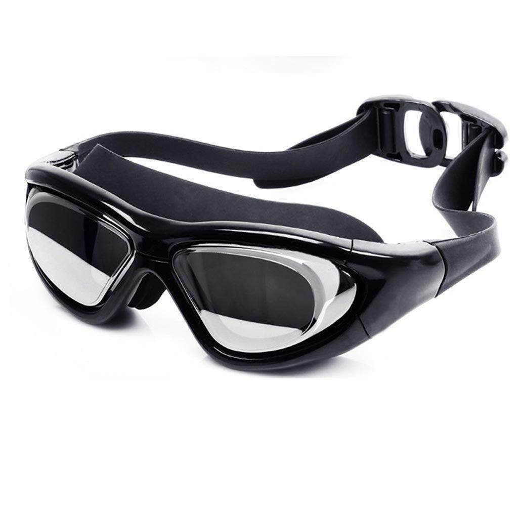 ส่วนลด Mosha Fashions แว่นตาว่ายน้ำ ขอบกลาง เลนส์กว้าง กันแสง Uv สีดำ รหัส Swo1