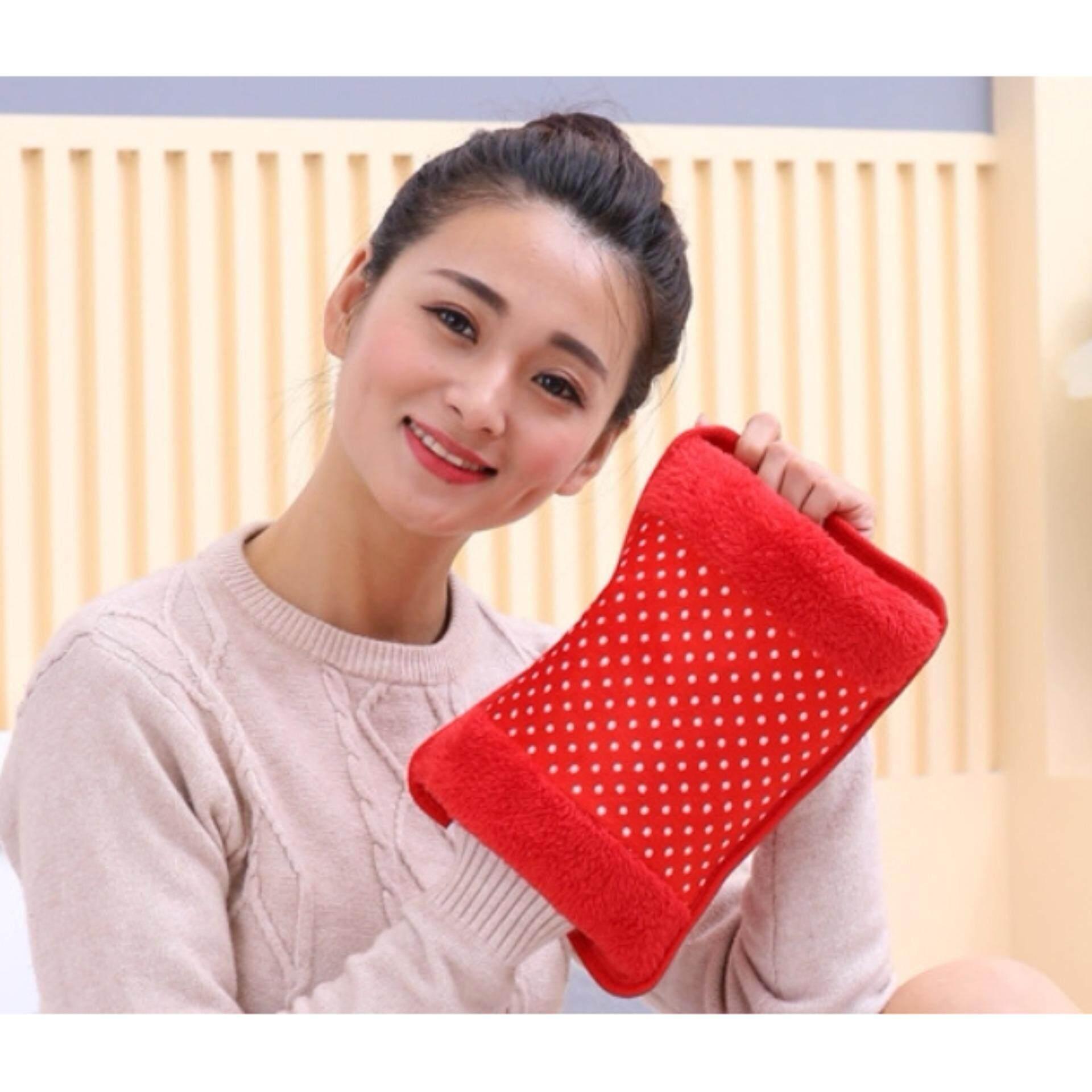 ราคา กระเป๋าน้ำร้อนไฟฟ้า Electric Heating Bag ร้อนเร็ว สะดวกในการใช้งาน สีแดง กรุงเทพมหานคร