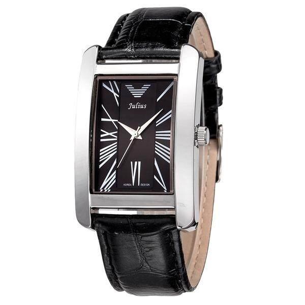 ราคา Julius นาฬิกาข้อมือผู้หญิง สายหนัง รุ่น Ja 399 Black Bl เป็นต้นฉบับ Julius