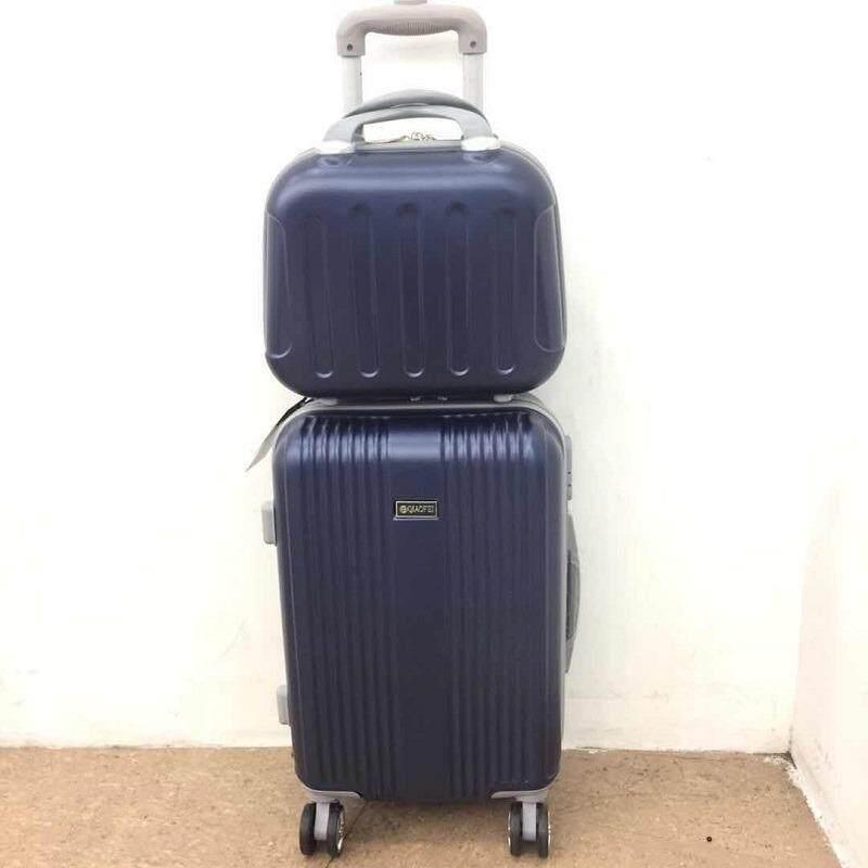 Swiss กระเป๋าเดินทางล้อลาก 4 ล้อ ขนาด 18 14นิ้ว(2ใบค่ะ) รุ่น011 วัสดุabs Pc100 กรุงเทพมหานคร