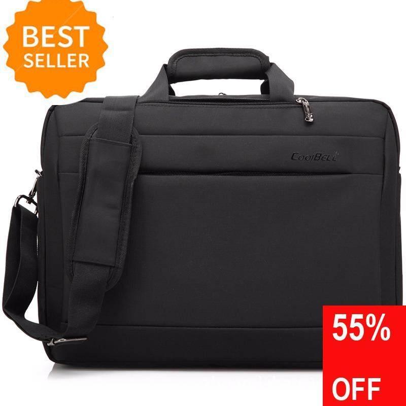 ราคา Shockproof Computer Bag Laptop Messenger Handbag For 15 6 17 3 Laptop Coolbell เป็นต้นฉบับ