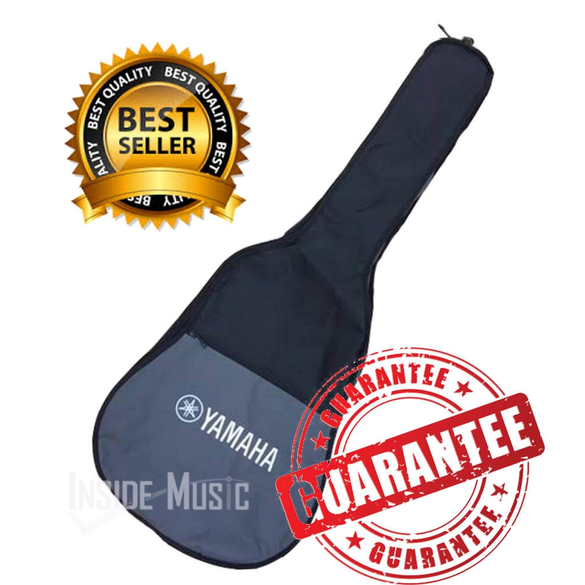 ราคา ราคาถูกที่สุด Yamaha กระเป๋ากีตาร์โปร่ง รุ่น ดำ เทา บุฟองน้ำอย่างดี