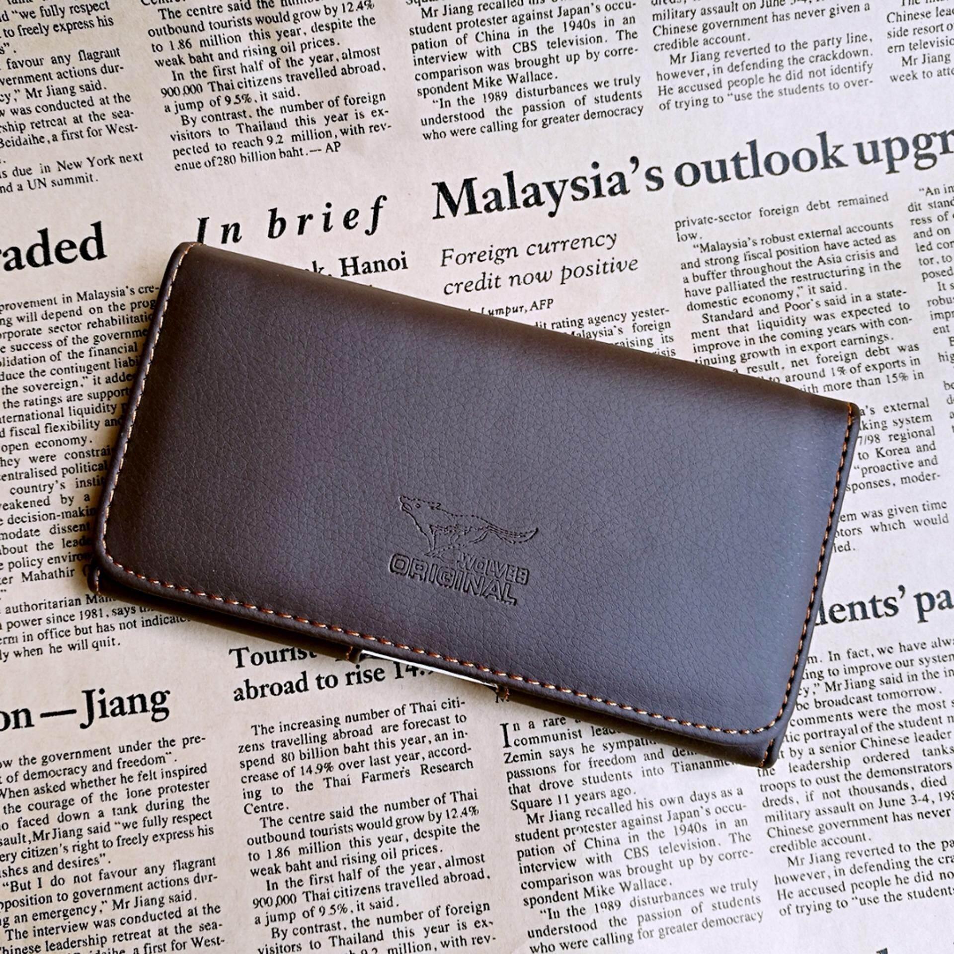 ราคา Leather Inc ซองใส่มือถือคาดเข็มขัดชั้นเดียว หนัง รุ่น Mb002 4 สีน้ำตาลเข้ม ใน กรุงเทพมหานคร