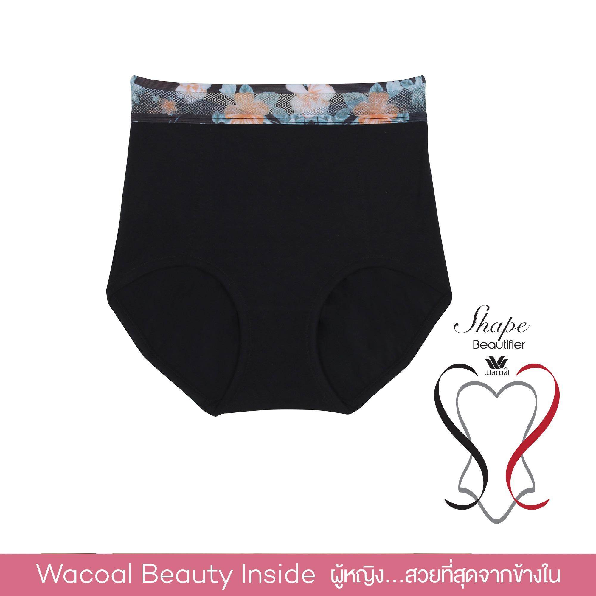Wacoal Pants กางเกงเก็บกระชับ สีดำ Black Wy1298Bl ถูก
