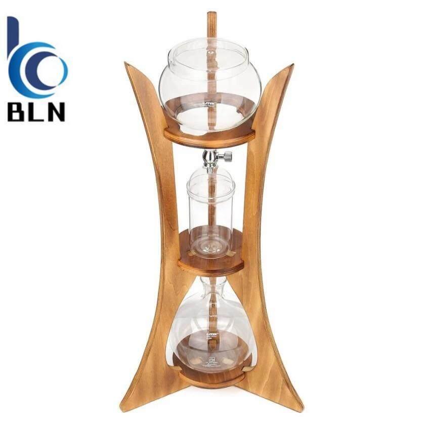 ขาย ซื้อ 【Bln Home】Cold Drip Ice Coffee Maker Glass Dutch Brew Machine W Filter Paper For 8 Cups