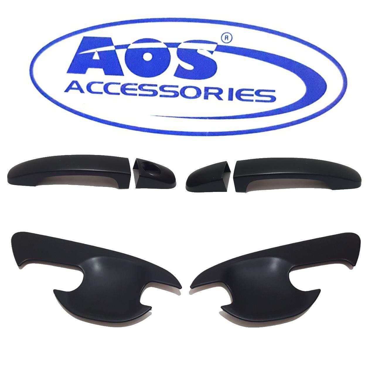 ซื้อ Aos เบ้ารองมือเปิด และ ครอบมือเปิดประตู Ford Ranger 2012 Mazda Bt50 Pro Aos ถูก