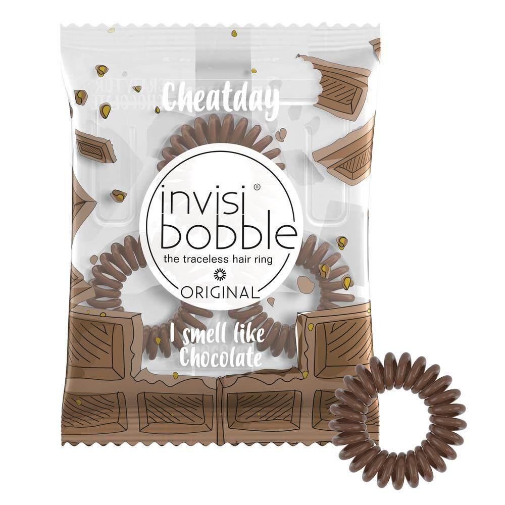 ราคา Invisibobble ยางรัดผม สี Crazy For Chocolate เป็นต้นฉบับ Invisibobble