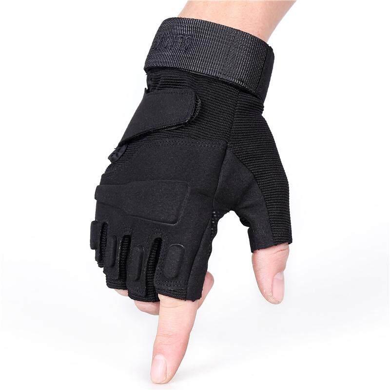 ถุงมือขี่มอเตอร์ไซค์ ถุงมือยกน้ำหนัก ถุงมือฟิตเนส ถุงมือกลางแจ้ง Fitness Glove Outdoor.