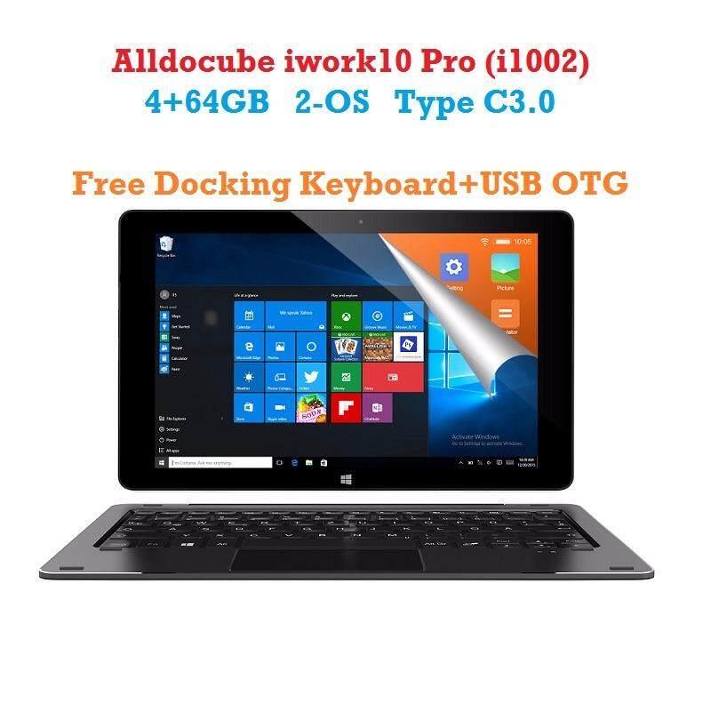 ส่วนลด Alldocube Iwork10 Pro Windows10 Android5 1 แท็บเล็ต 2 ระบบ Intel Atom X5 Z8350 Quad Core 4Gb Ram 64Gb Rom จอ 10 1 นิ้ว แบบ Ips 1920 1200 Alldocube