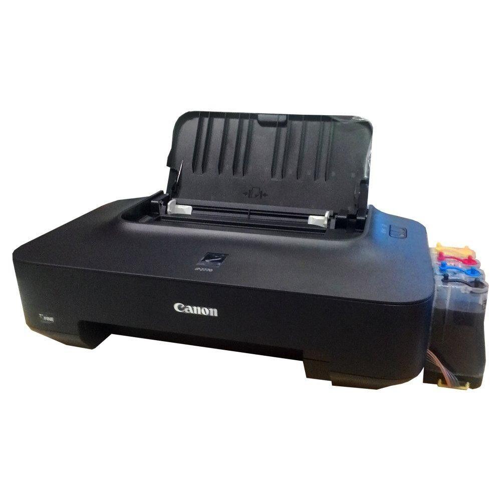 ซื้อ Canon Pixma Ip2770 Inkjet Printer ติดตั้ง Tank พร้อมใช้งาน ถูก ไทย