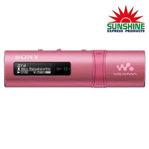 ส่วนลด Sony เครื่องเล่น Mp3 รุ่น Nwz B183F Pce สีชมพู Radio Ic Audio Player ไทย