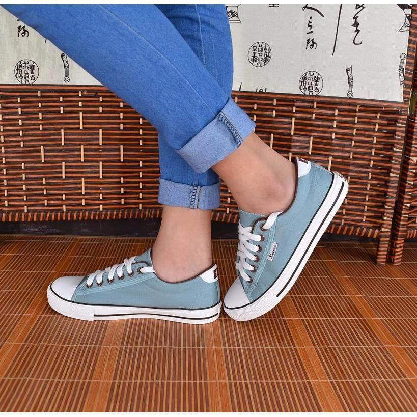 ขาย รองเท้าผ้าใบผู้หญิง รุ่น B999 สีเขียว ใน กรุงเทพมหานคร