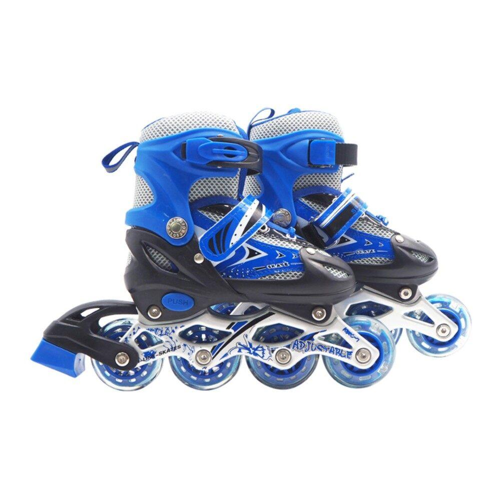 Roller Blade รองเท้าสเก็ต โรลเลอร์เบลด โรลเลอร์สเก็ต เล่น สเก็ต Size S[28-33] สีน้ำเงิน