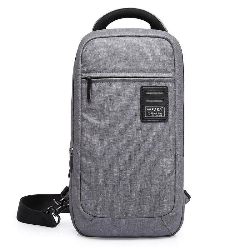 ราคา Kaka กระเป๋าคาดอก สะพายไขว้หลัง Waterproof Multi Functional Korean Chest Bag รุ่น 99021 ราคาถูกที่สุด