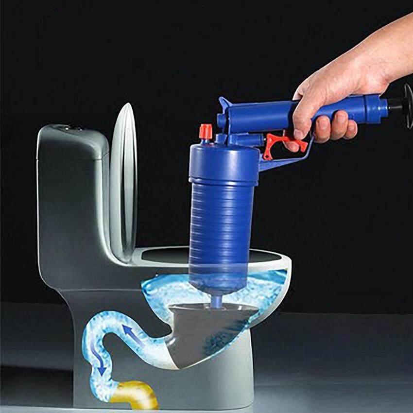 ราคา อุปกรณ์ปั๊มขจัดสิ่งอุดตันในท่อ แก้ท่อตัน ส้วมตัน ใช้งานง่าย พกพาสะดวก Unbranded Generic กรุงเทพมหานคร