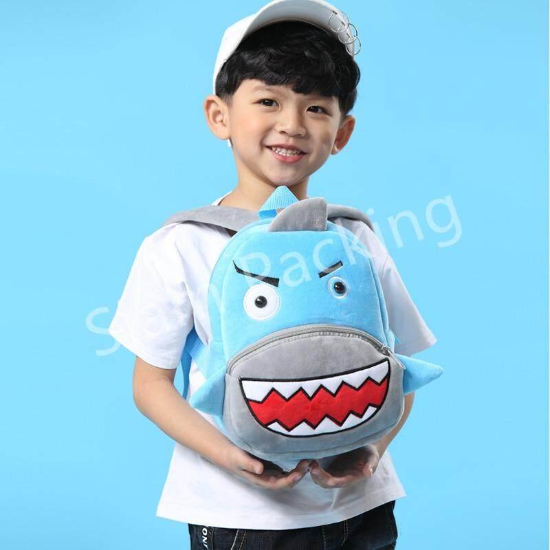 ราคา Poonpoon 2 5 ขวบ กระเป๋าเป้เด็ก ลายปลาฉลาม ใหม่ ถูก