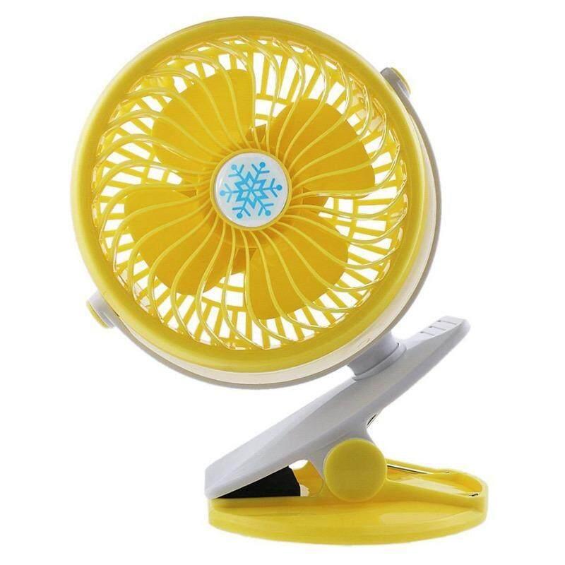โปรโมชั่น Cr Seven Usb Clip Fan พัดลมหนีบ ขอบประตู รถเข็นเด็ก ชาร์จได้ ใส่ถ่านได้ ปรับหมุนได้ 360 องศา Cr Seven ใหม่ล่าสุด