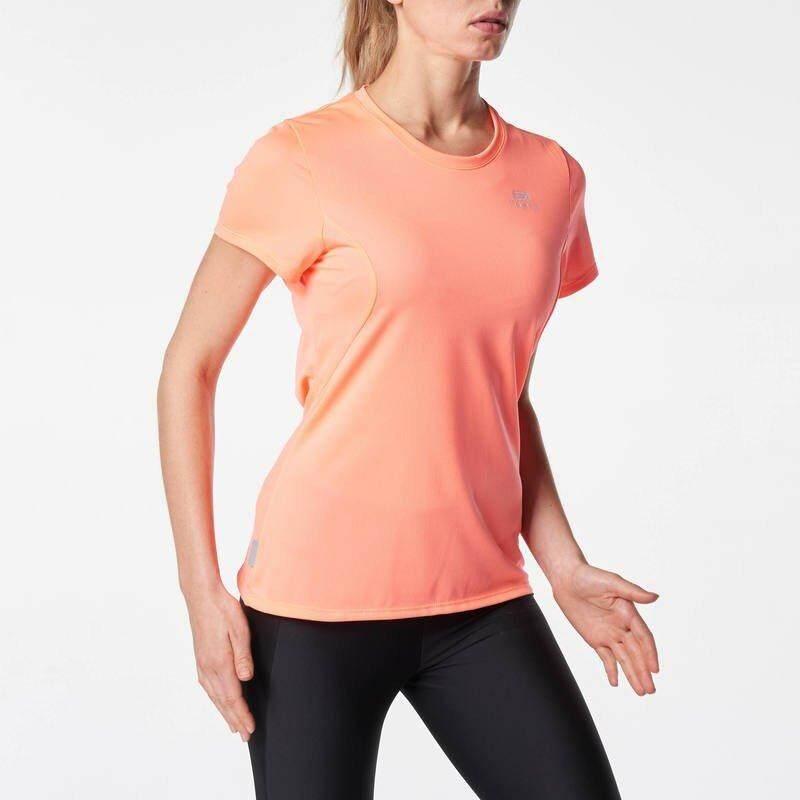 โปรโมชั่น เสื้อยืด เสื้อยืดออกกำลังกาย เสื้อวิ่ง เสื้อโยคะ เสื้อยืดใส่วิ่งสำหรับผู้หญิง ระบายอากาศ เสื้อกีฬา เสื้อวิ่งมืออาชีพ เสื้อวิ่งระบายอากาศ เสื้อวิ่งระบายเหงื่อ เสื้อวิ่งมืออาชีพ ผู้หญิง หญิง Kalenji ใหม่ล่าสุด