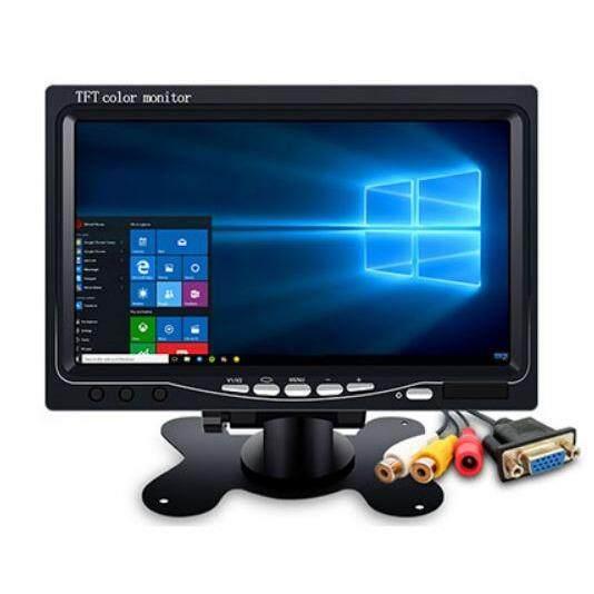 ขาย จอแสดงผลขนาด Lcd Tft 7 ความละเอียด 1024 X 600 Input Vga และ Av For Raspberry Pi B 2B 3B และ Windows Unbranded Generic เป็นต้นฉบับ