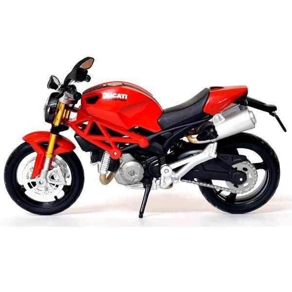 Maisto โมเดลมอเตอร์ไซค์ ขนาด 1:12 Ducati Monster 696 สีแดง