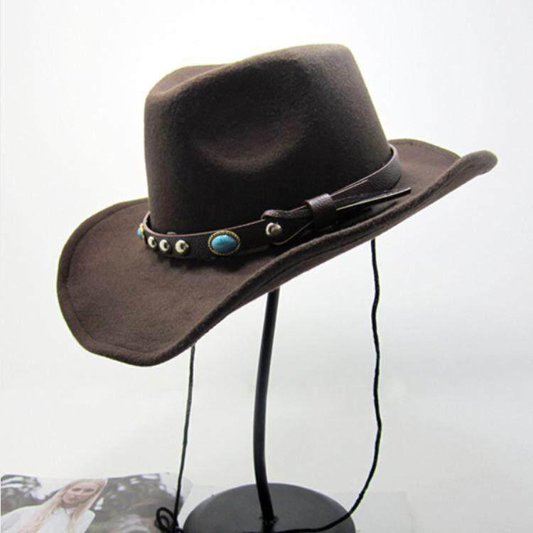 หมวกคาวบอย ประดับหินอัญมณี.