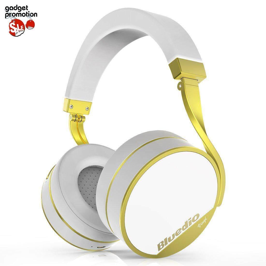 ราคา Bluedio Vinyl Plus หูฟังบลูธูทครอบหูเเบบพับได้พร้อม 3D Surround ใน ไทย