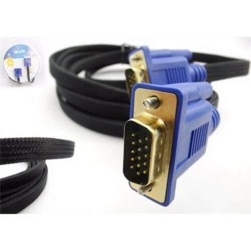 ซื้อ Glink สายจอ Vga ยาว 3 เมตร Super Vga Rgb Projector Lcd Led Cable 3 6 Cable 3 M สายแบนถัก หัวทอง ใหม่