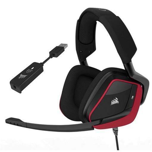 ส่วนลด Corsair Void Pro Surround Premium Gaming Headset With Dolby Headphone 7 1 Red Thailand