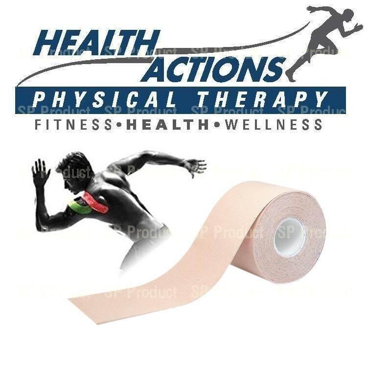 ราคา Kinesiology Sports Muscle Tape เทปล็อคกล้ามเนื้อ Beige ใหม่ล่าสุด