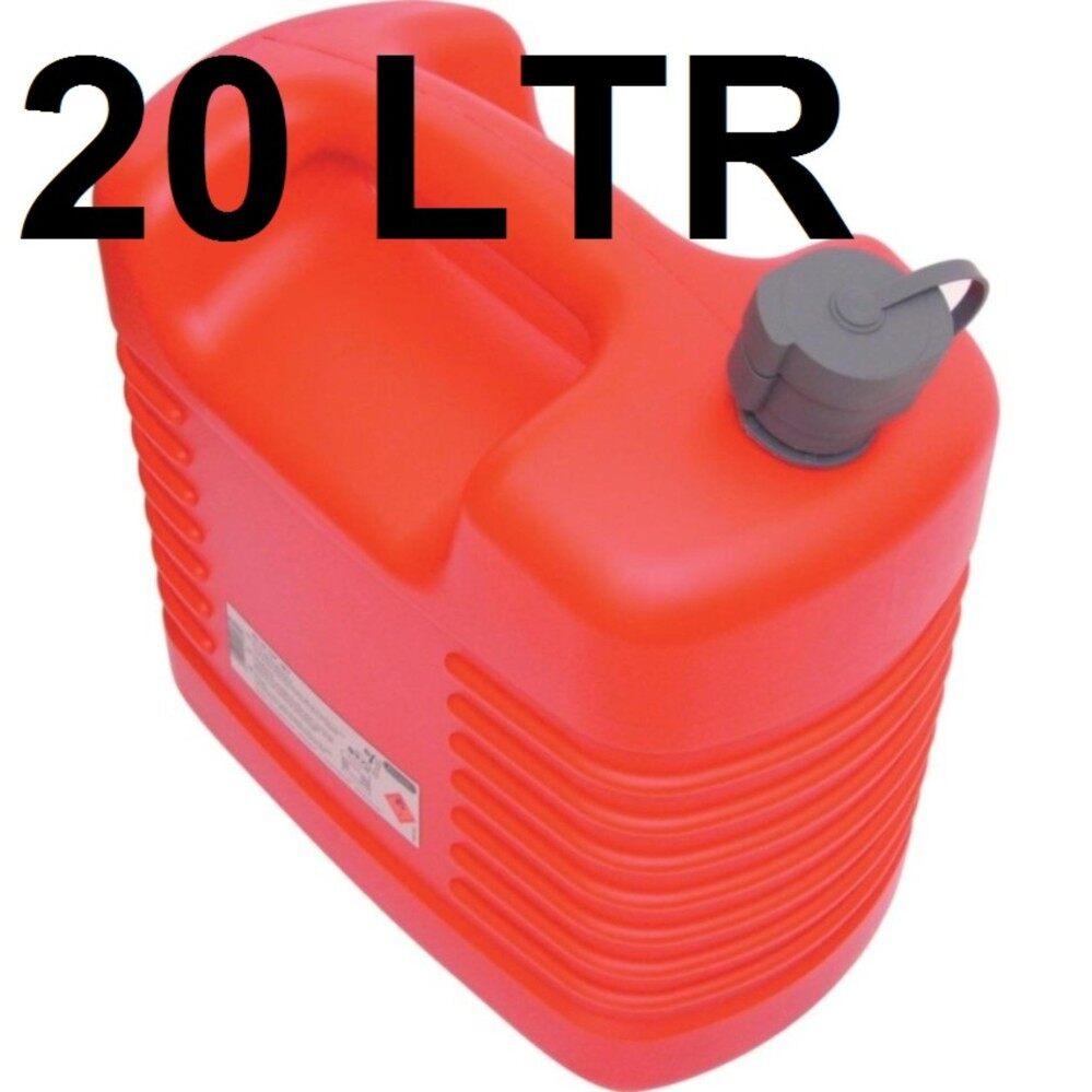 ถังน้ำมันสำรอง ขนาด 20 ลิตร ถังน้ำมันพลาสติก FUEL CONTAINER Kennedy KEN5039140K 20LTR PLASTIC JERRY CAN WITH INTERNAL SPOUT