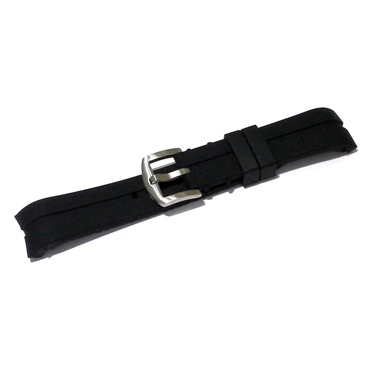 ส่วนลด Nt Watch Shop สายนาฬิกา สายยาง ซิลิโคน Bfr หัวโค้ง 22 มม สีดำ Nt Watch Shop Thailand