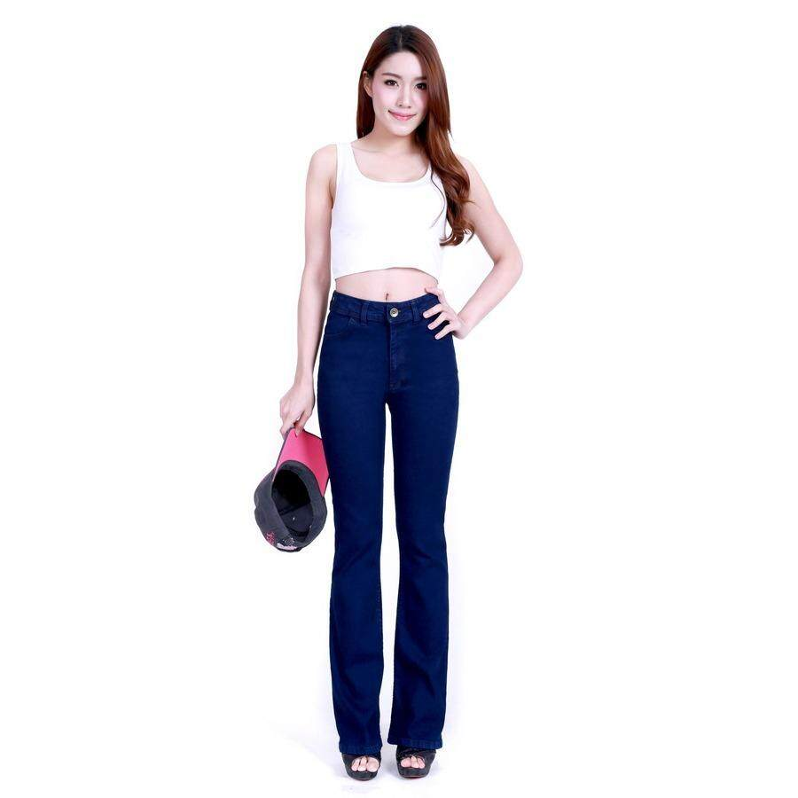 โปรโมชั่น Eiffel Jeans กางเกงยีนส์ เอวสูง ทรงขาม้า Eiffel Jeans ใหม่ล่าสุด