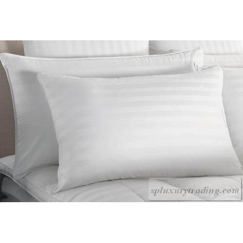 ขาย Sp Luxury ปลอกหมอน Cotton 100 ลายริ้ว สีขาว แพ็คคู่ Sp Luxury ใน กรุงเทพมหานคร