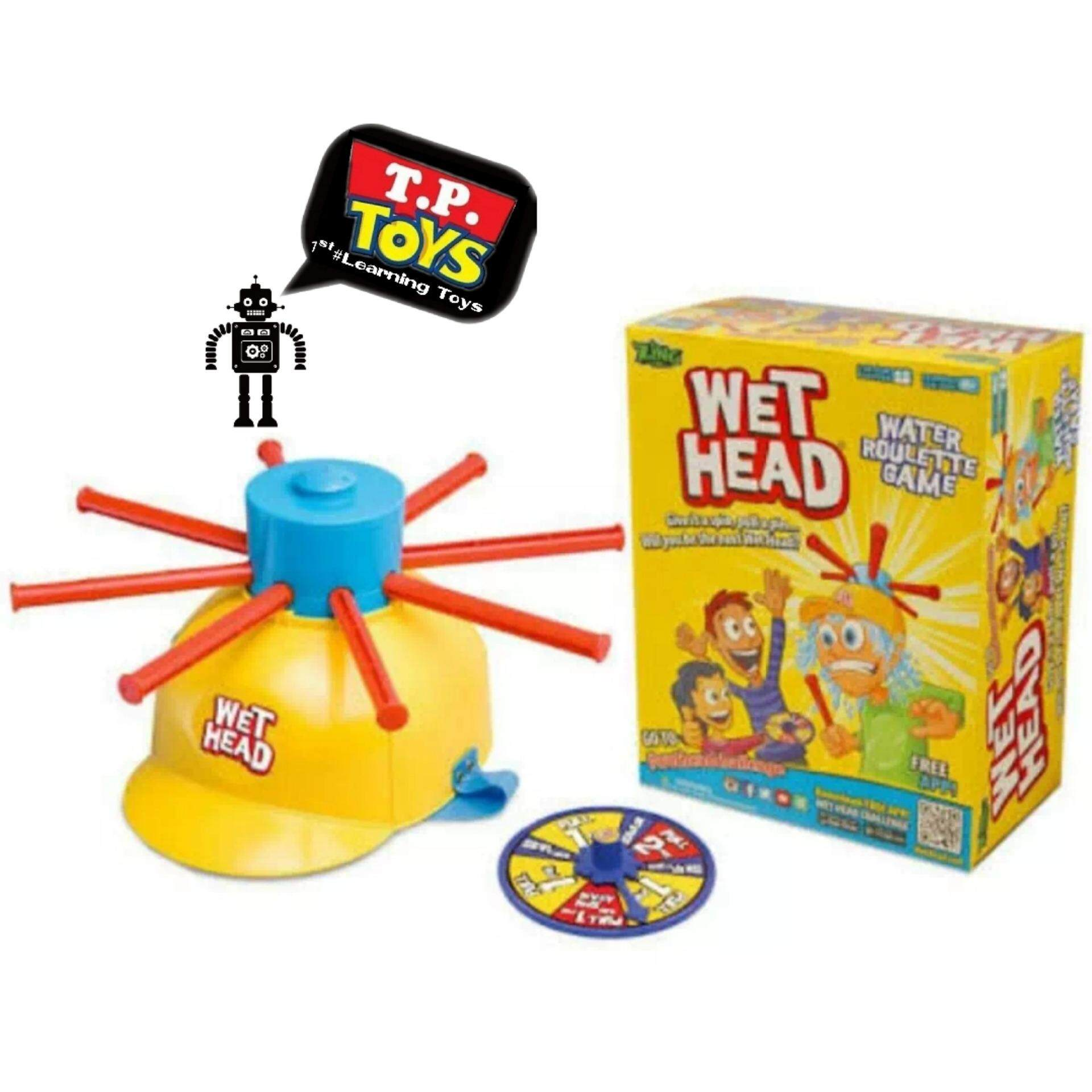 ขาย T P Toys Wet Head Challenge เกมส์หัวเปียกน้ำ สุดฮิตในต่างประเทศ เล่นได้ทั้งครอบครัว T P Toys ใน กรุงเทพมหานคร