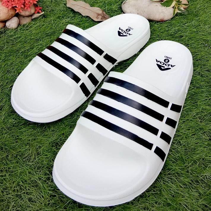 ขาย รองเท้าแบบสวม รองเท้าลำลอง รองเท้าแตะผู้ชาย Adda รุ่น 55R01 M1 สมุทรปราการ