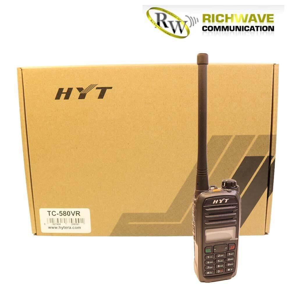ขาย ซื้อ Hyt วิทยุสื่อสาร Tc 580Vr Black ชุดแท้ทั้งชุด ถูกกฎหมาย สำหรับ Vr ใน ไทย