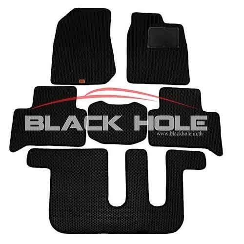 โปรโมชั่น Blackhole Carmat พรมรถยนต์เข้ารูป 2 ชั้นIsuzu Mu Xปี 2013 ปัจจุบัน Black Rubber Pad รุ่น Jismxxbr สีดำ