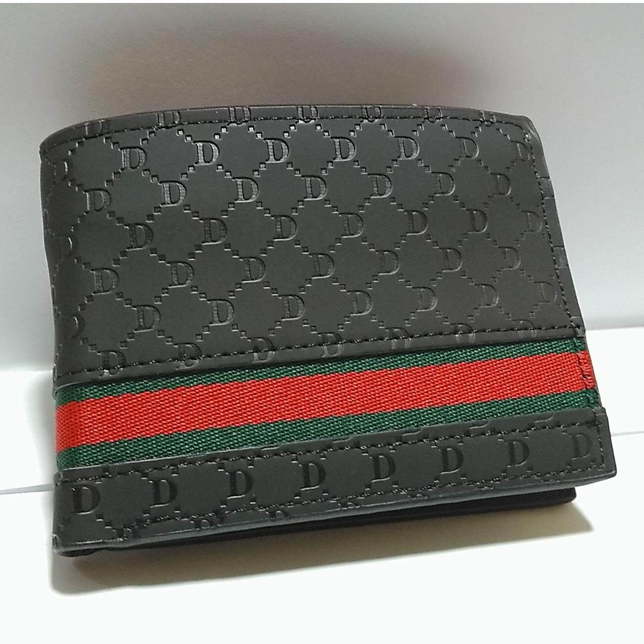 ซื้อ กระเป๋าสตางค์ กระเป๋าสตางค์ผู้ชาย กระเป๋าสตางค์แฟชั่น กระเป๋าสตางผู้ชายแฟชั่น แบบสั้น เรียบหรู มีสไตล์ รุ่น B002 Men
