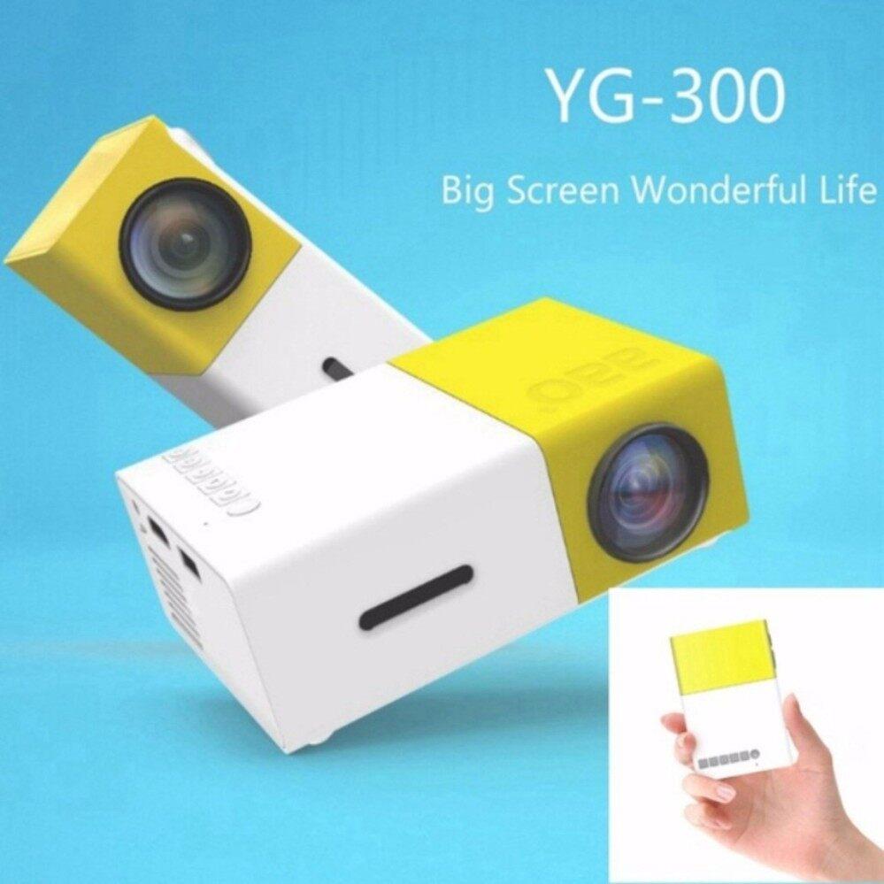 ราคา ใหม่ล่าสุด โปรเจคเตอร์ รุ่น Yg300 Mini Led Projector Home Theater Beamer New Arrivals เป็นต้นฉบับ