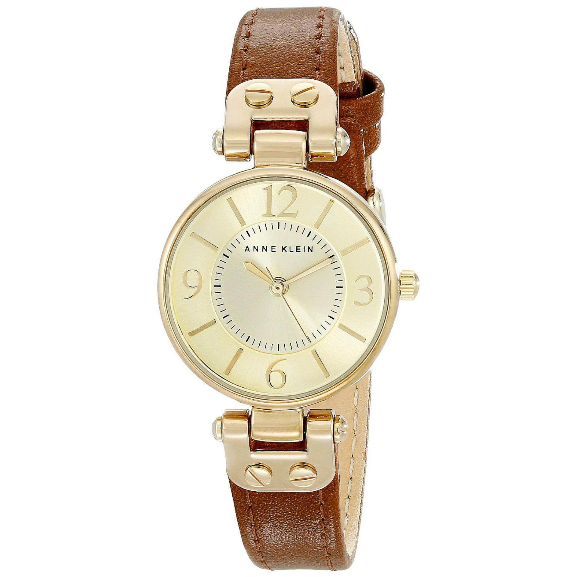 ส่วนลด สินค้า Anne Klein นาฬิกาข้อมือผู้หญิง สีน้ำตาล รุ่น 9442Chhy